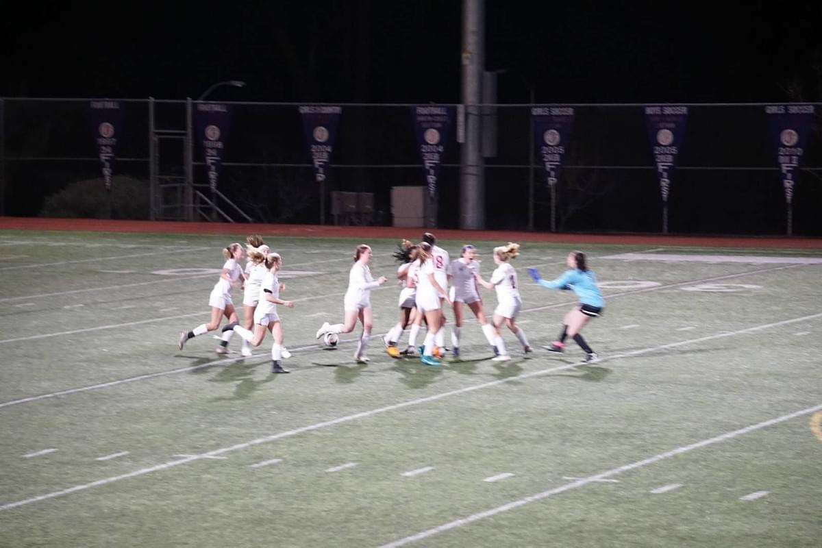 Moments after the game winning goal!