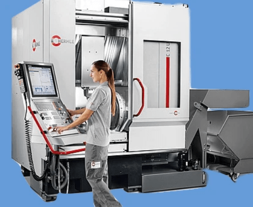 Hermle CNC machine