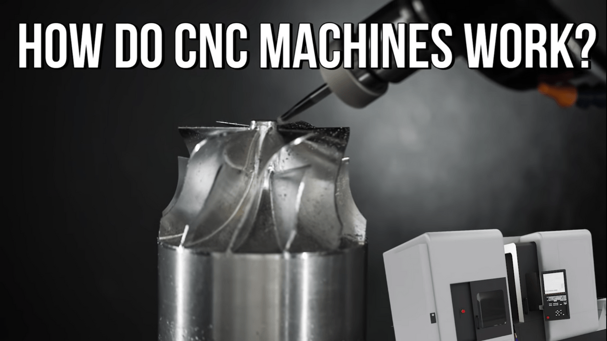 CNC machines  work