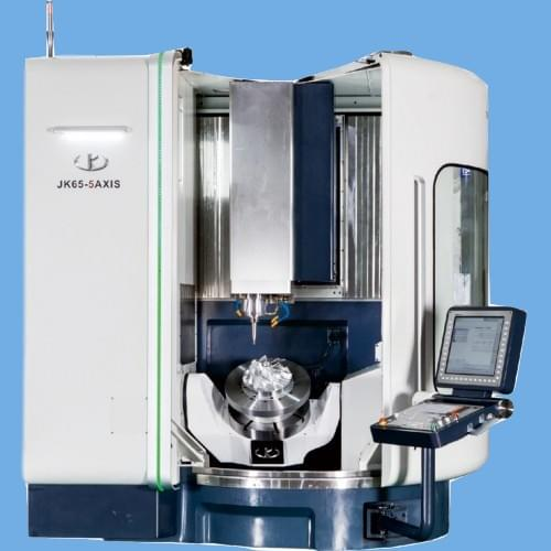 trunnion-type 5 axis CNC milling machine
