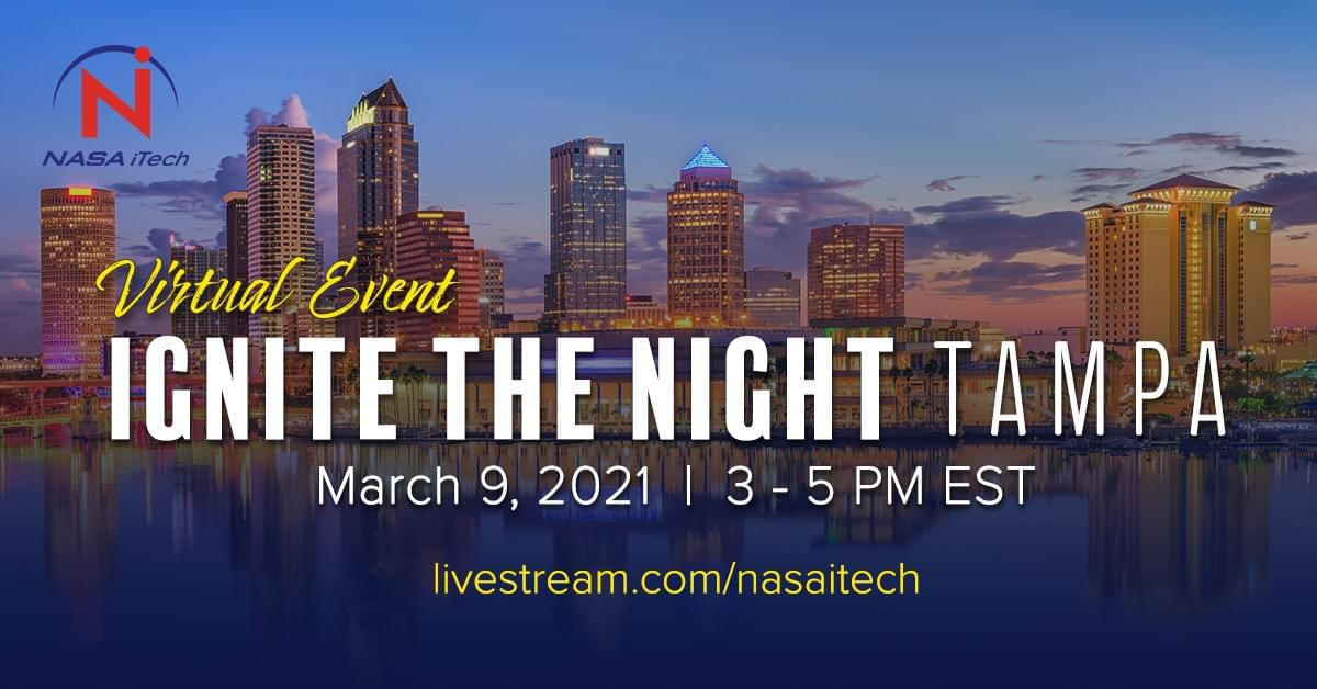 Ignite the Night TAMPA, a virtual event - submit your ideas by January 29, 2021