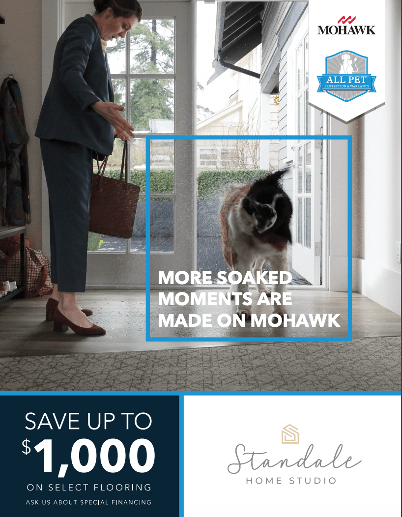mohawk flooring sale. special financing on select flooring.