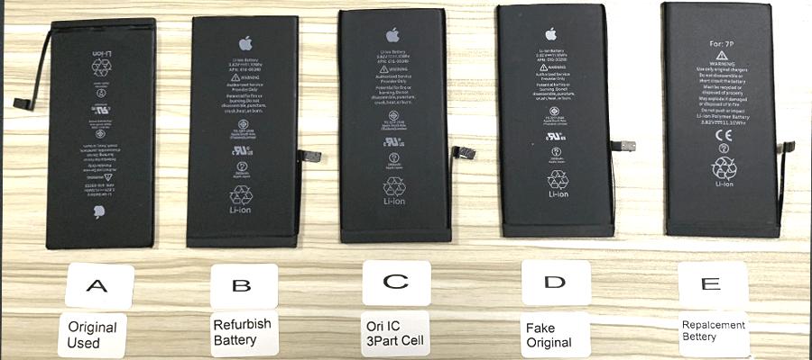 Distinguish Fake or Original iPhone Battery