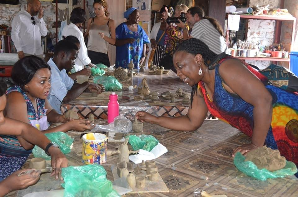 Pottery class at Wayi Wayi Art Studio & Gallery