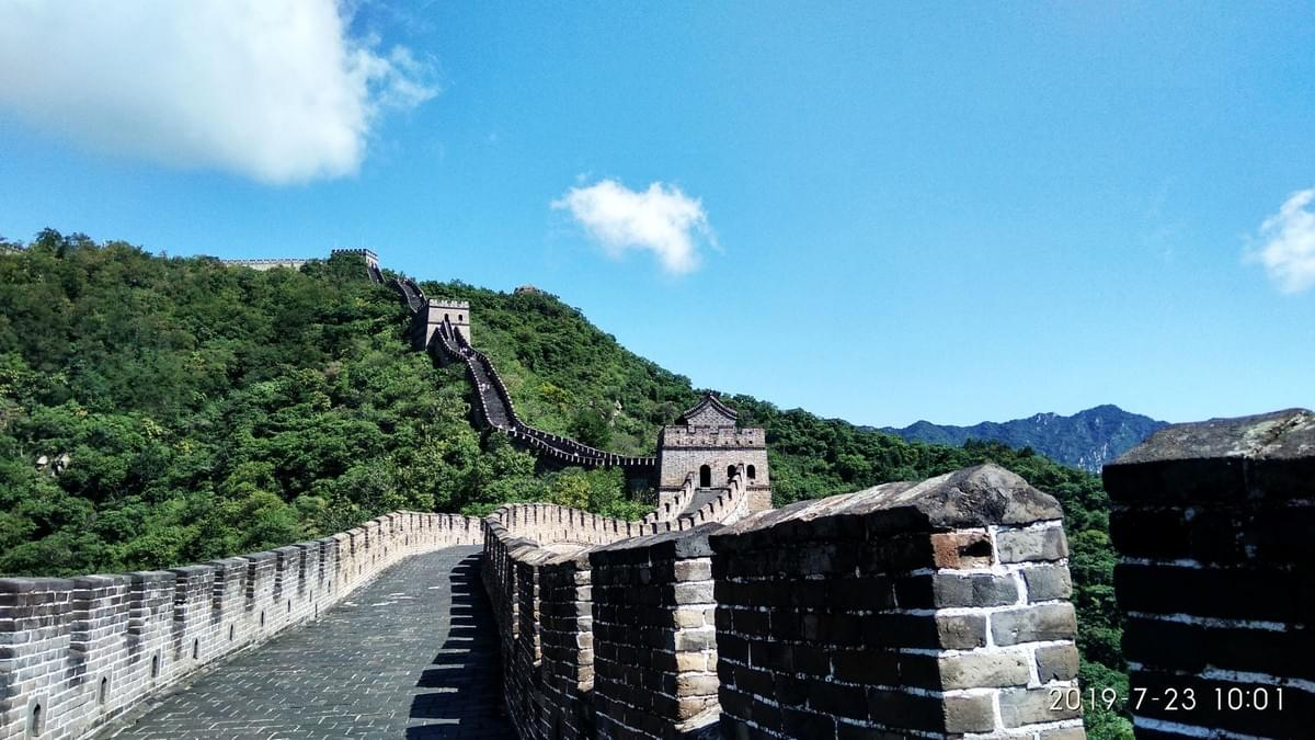 Great wall is a long and active endless wall which can make you feel happy.