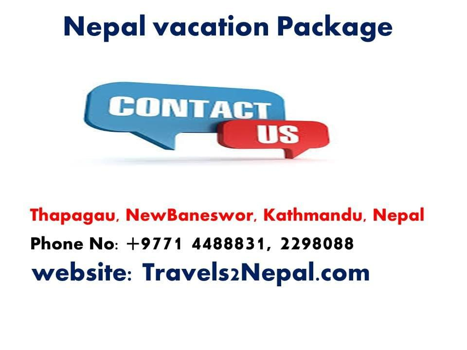 Step 2 Nepal Tourist Package