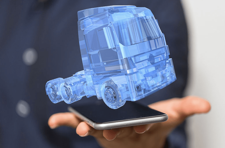 Augmented Reality for Truck Maintaince
