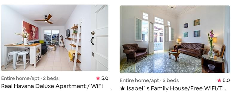 For now MayitoBnB's properties continue to be a reference on the giant Airbnb