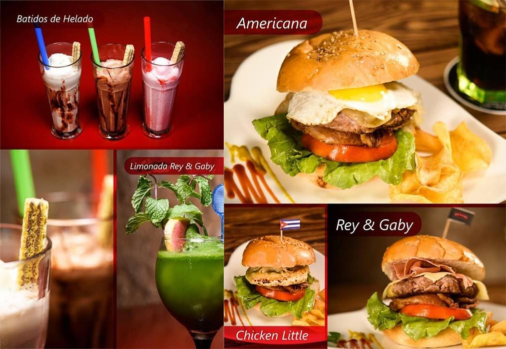 Rey y Gaby restaurant offers incredible quality meals.