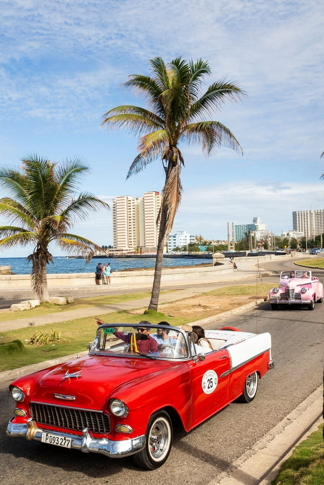 Riding a classic American car in Cuba is not just a cliché, it is a historic experiences as this cars survived
