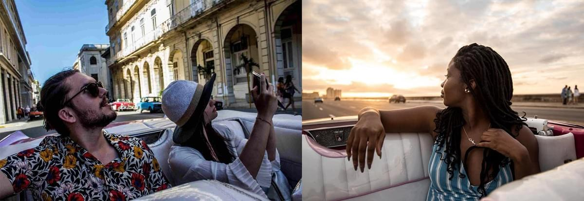 Sunsets in Havana and in Cuba in general are just as vintage as you will never expect it to be until you experrience it.
