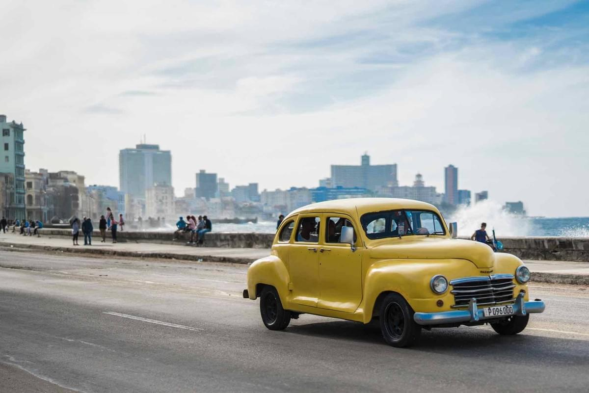 Along the Havana coastline is the iconic Malecon Habanero. Cruise it on a vintage car!