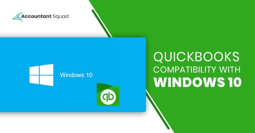 QuickBooks compatibility with Windows 10