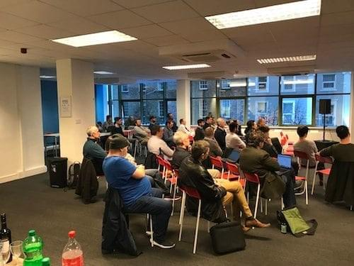 Cork AI Meetup 3 - Group photo of attendees