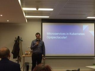 Dublin Microservices meetup - David Gonzalez; Microservices on Kubernetes