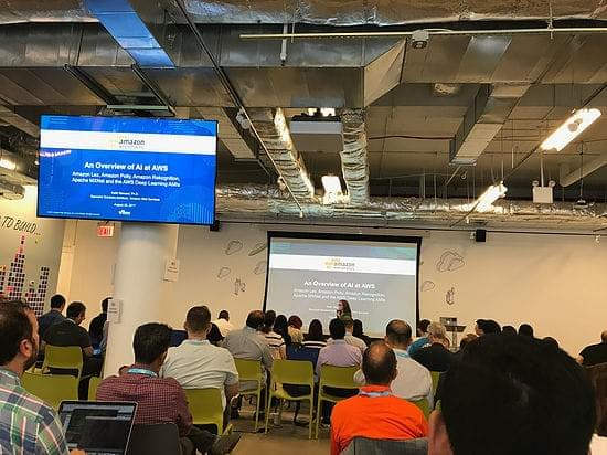 fourTheorem attends AI Day at the AWS Loft in NYC