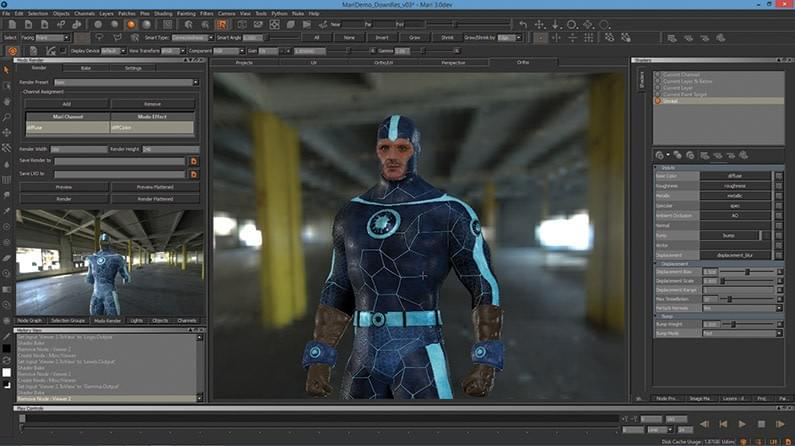 9 Best Texturing Softwares For Games And 3d Modelling 2019 3d