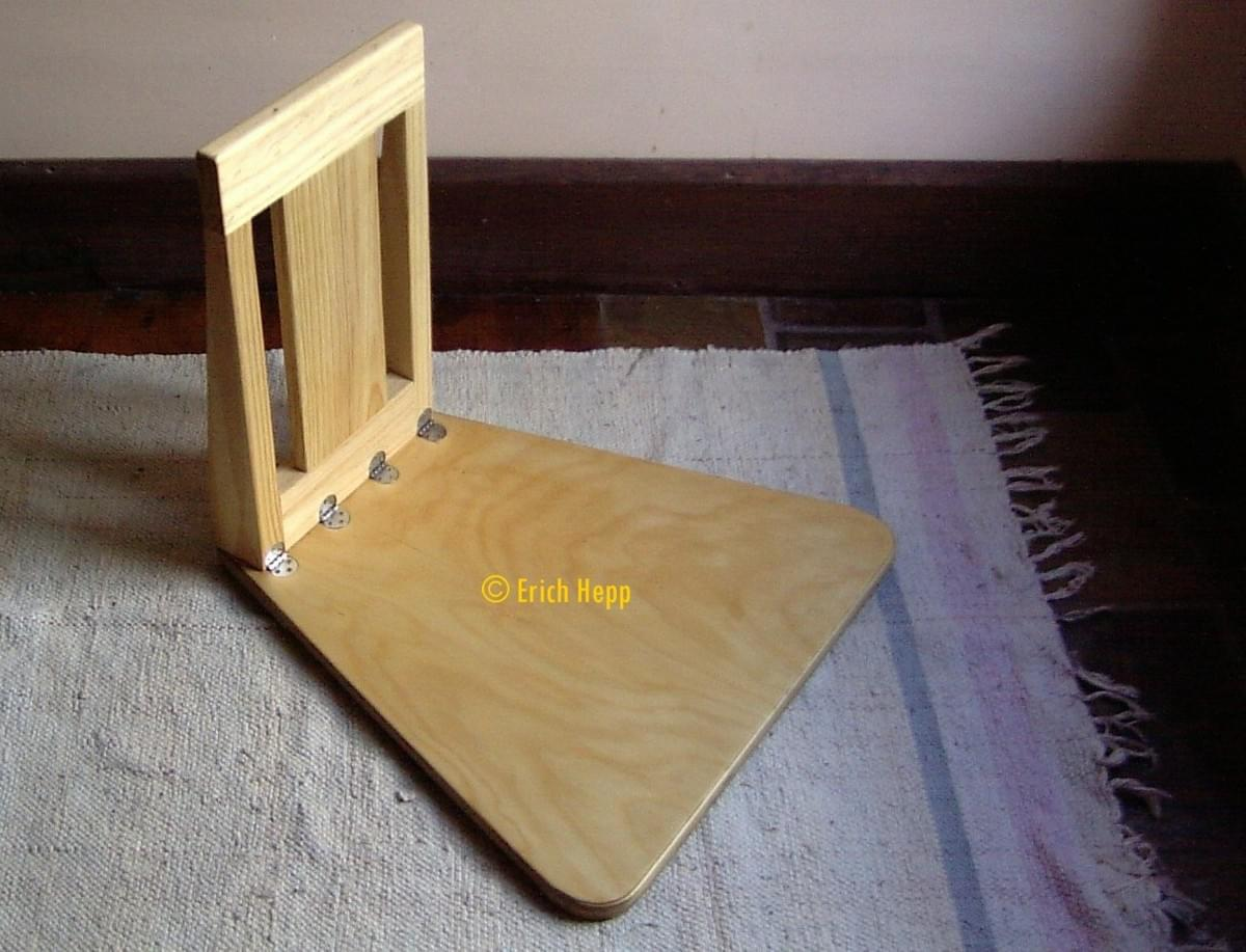 Simply Woodcrafts Meditation Stool Australian Made