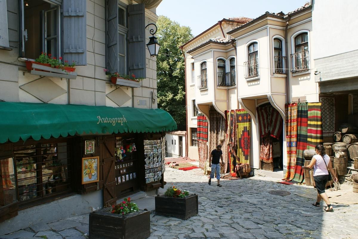 Plovdiv - Old part, perfect for a walk. Learn more on baoguide.com