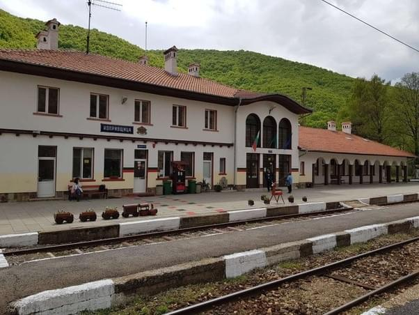 Trains to Koprivshtitsa from Sofia, Train Station Koprivshtitsa
