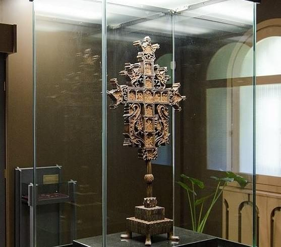 Rafail Cross, Most valuable artifact in Rila Monastery. Know more on baoguide.com