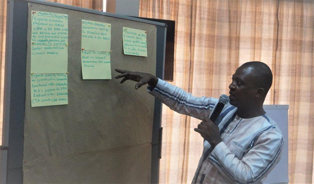 DCD Mr Samuel Badu, of Asutifi North Presents ANDA Priority actions for 2020