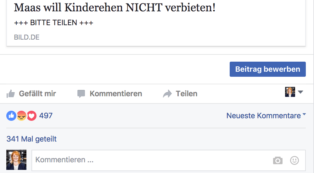 Screenshot-Facebook-Kinderehe-verbieten