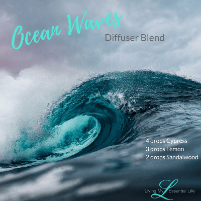 The ocean waves diffuser blend takes me to my beach vacation.