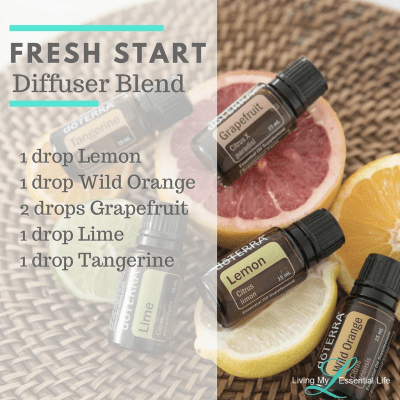 Start each day ready for new opportunities, experiences with this fresh start diffuser blend.