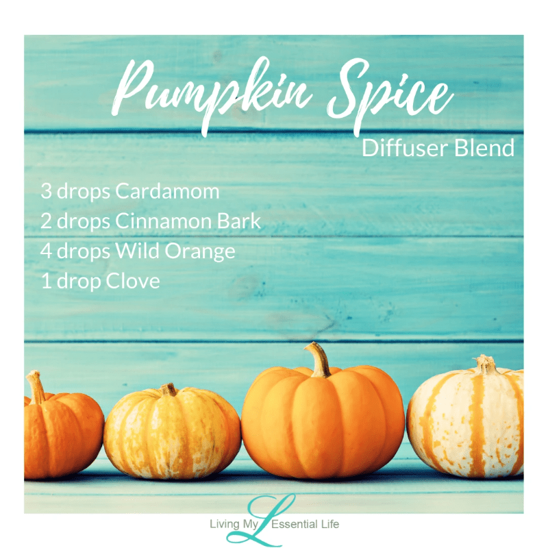 Top 12 Halloween Diffuser Blends - Pumpkin Spice