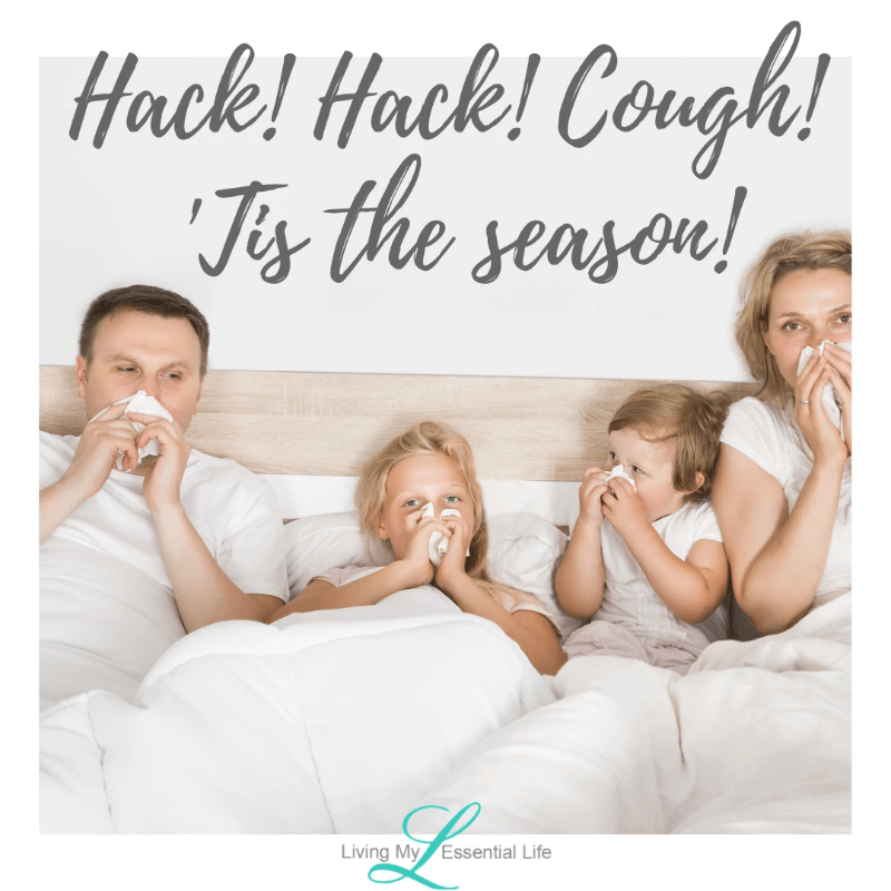 Hack! Hack! Cough! Cough! 'Tis the season! Top ways to use On Guard to stay healthy this winter.