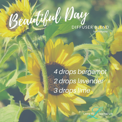 It will be a beautiful day with this diffuser blend from Living My Essential Life
