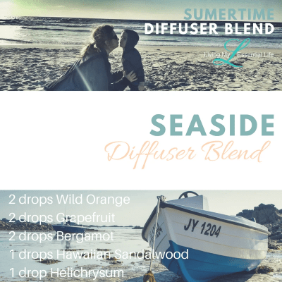 Smells of seashell hunting in California with this seaside diffuser blend.