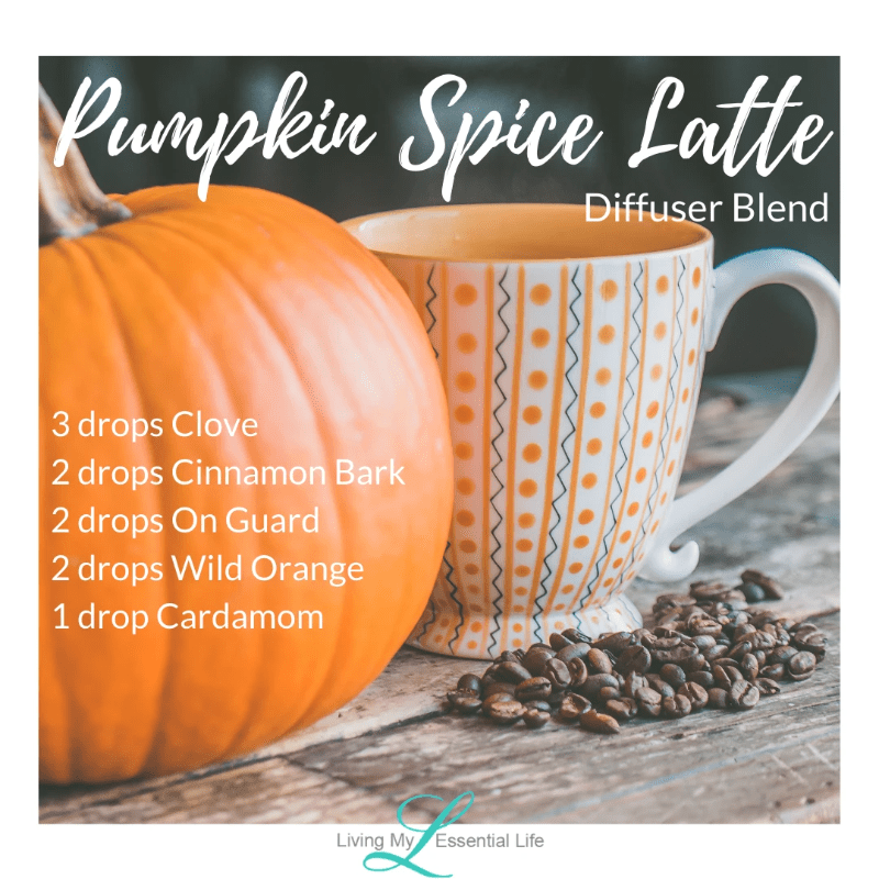 Top 12 Halloween Diffuser Blends - Pumpkin Spice Latte