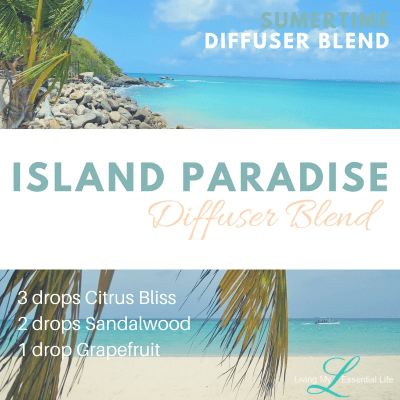 This island paradise diffuser blend will whisk you away to your private beach.