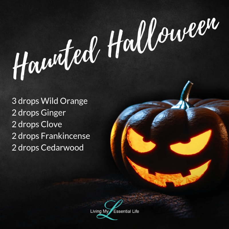 Top 12 Halloween Diffuser Blends - Haunted Halloween