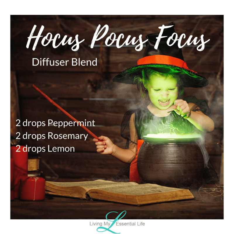 Top 12 Halloween Diffuser Blends - Hocus Pocus Focus