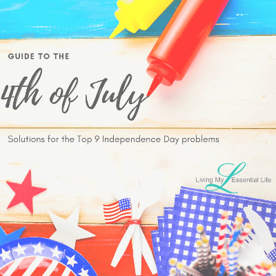 Guide to the fourth of July. Solutions for the top 9 problems of Independence Day.