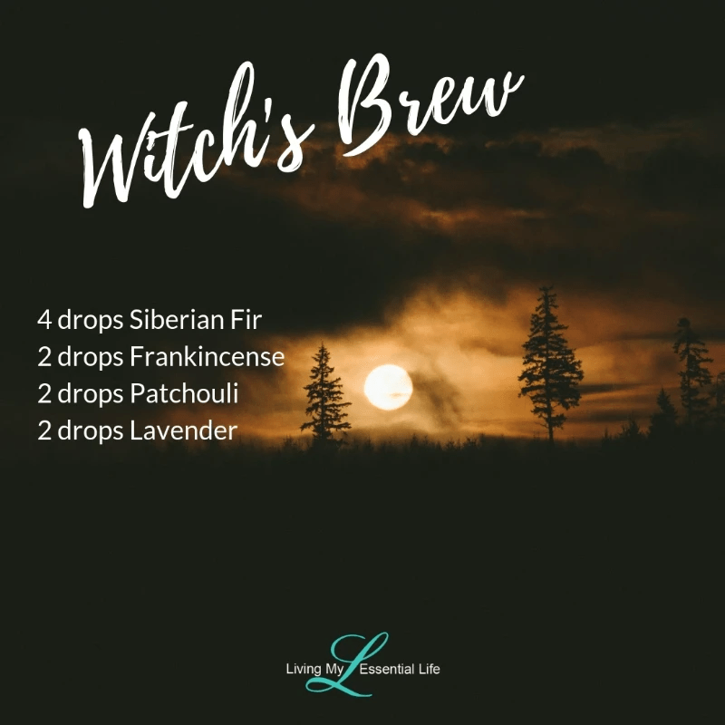 Top 12 Halloween Diffuser Blends - Witches Brew
