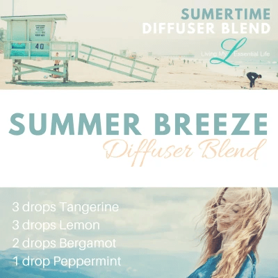 summer breeze is one of the Best summer diffuser blends