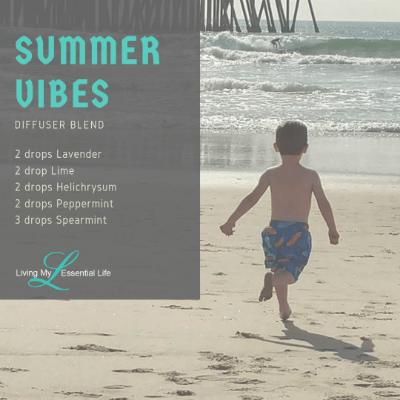 Who is getting their summer vibes on with this diffuser blend