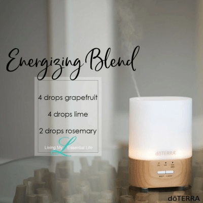 Use this Energizing diffuser blend if you Are you looking for a new fresh and energizing scent for the early days of summer