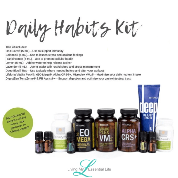 Order the Daily Habits Kit and take charge of your health today!