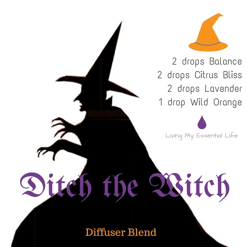 Top 12 Halloween Diffuser Blends - Ditch the Witch