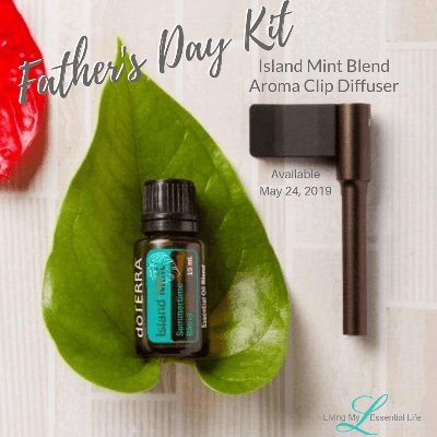 Father's Day gift idea perfect for all men. Essential oil blend from doTERRA Island Mint