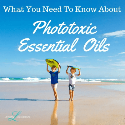 Melissa Goers Living My Essential Life doTERRA Essential Oil Photosensitive Phototoxic safety