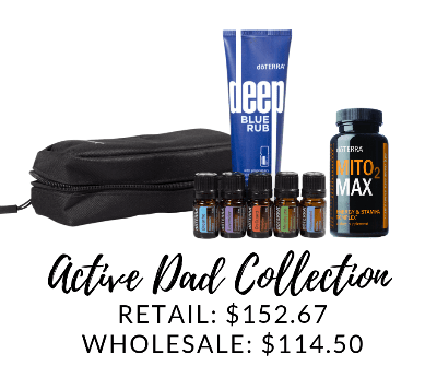 The Active Dad Collection is a great father's day gift or the active dad.