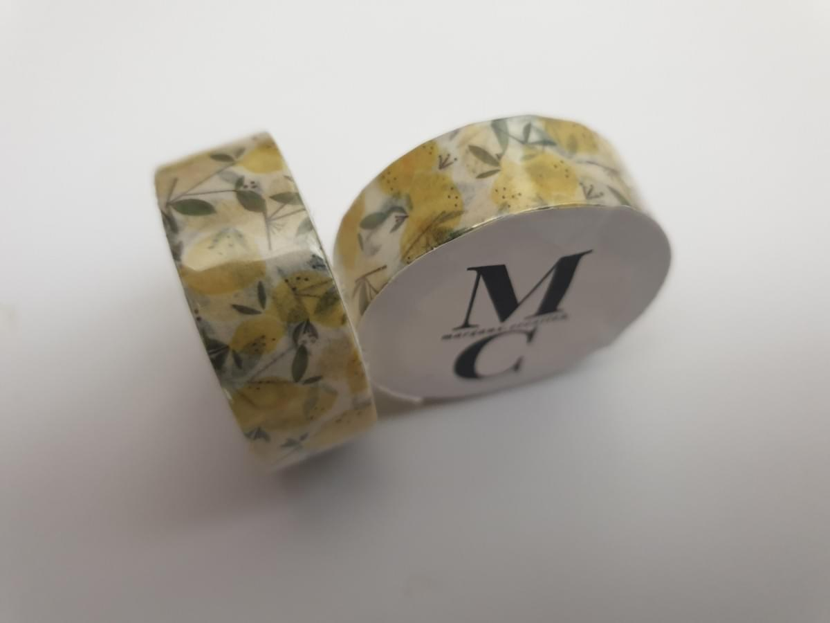 Washi tape collection limonade - margaux creation - boutique scrapbooking