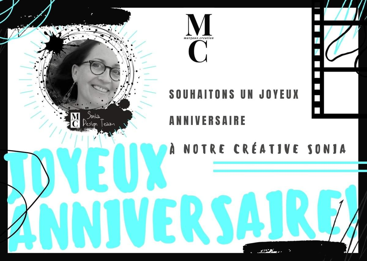 Design Team Margaux creation - Anniversaire Sonia
