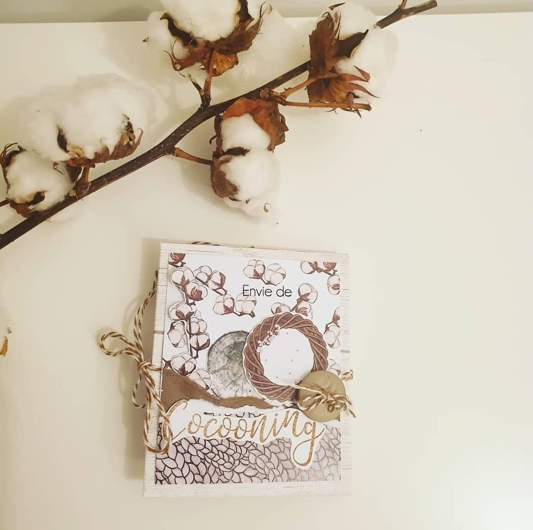 LE scrap de marie - Margaux creation - on attendra l'hiver